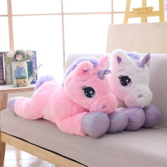 Giant Stuffed Unicorn Soft Plush Toy