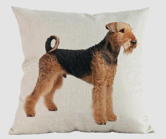 Airedale Pillow 14x14