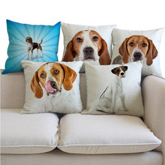 American Foxhound Pillow