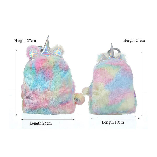 Plush Unicorn Backpack - Way Up Gifts