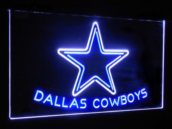 Dallas Cowboys LED Neon Light Sign