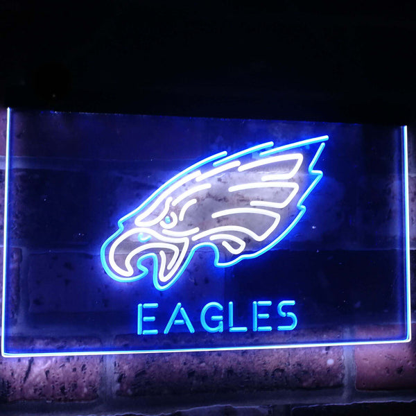 Philadelphia Eagles LED Neon Light Sign  Business > LED Signs > Dual Color Neon Signs > NFL Neon Signs - Way Up Gifts