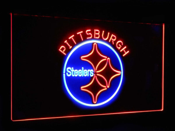 Pittsburgh Steelers LED Neon Light Sign