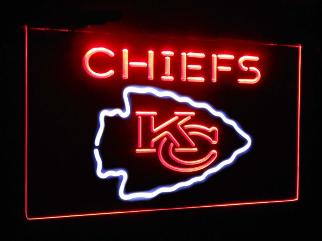 Kansas City Chiefs Led Neon Light Sign Way Up Gifts