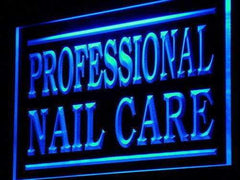 Professional Nail Care LED Neon Light Sign