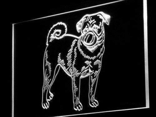 Pug Dog LED Neon Light Sign - Way Up Gifts