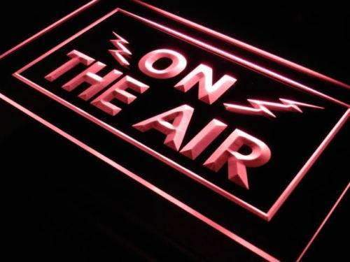 Radio On the Air LED Neon Light Sign - Way Up Gifts