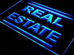 Real Estate LED Neon Light Sign