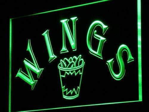 Restaurant Bar Chicken Wings LED Neon Light Sign - Way Up Gifts