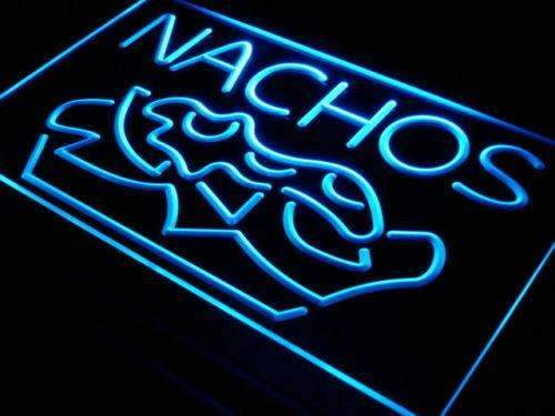 Restaurant Bar Nachos LED Neon Light Sign - Way Up Gifts