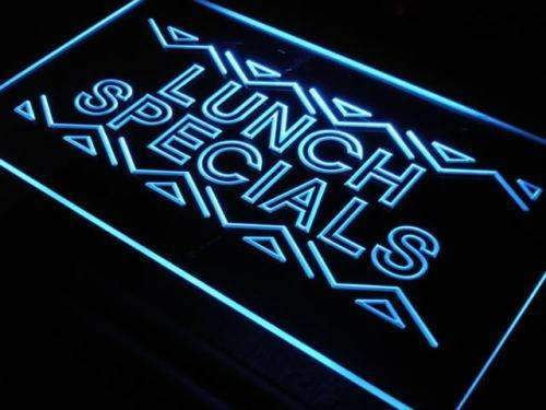 Restaurant Lunch Specials LED Neon Light Sign