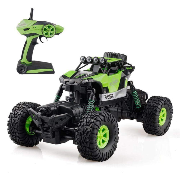 RC Rock Crawler Offroad Remote Control Car 1:16 Green Kids > RC Electronics > RC Cars - Way Up Gifts