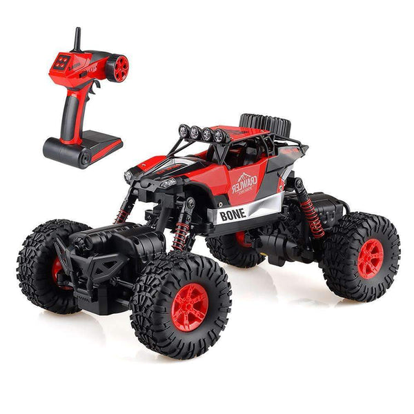 RC Rock Crawler Offroad Remote Control Car 1:16 Red Kids > RC Electronics > RC Cars - Way Up Gifts