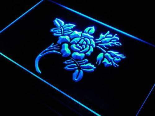 Rose Flower LED Neon Light Sign - Way Up Gifts