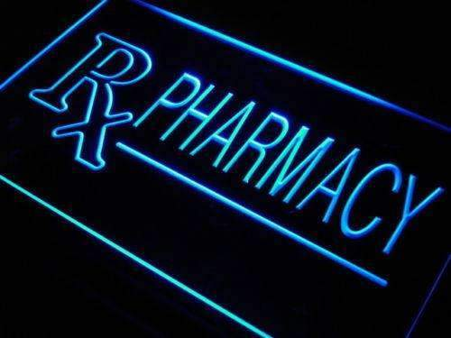 Rx Pharmacy LED Neon Light Sign - Way Up Gifts