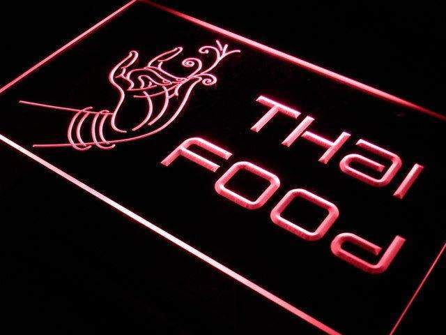 Thai Restaurant LED Neon Light Sign - Way Up Gifts