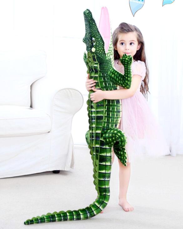 Giant Stuffed Alligator / Crocodile Plush Animal Toy - Way Up Gifts