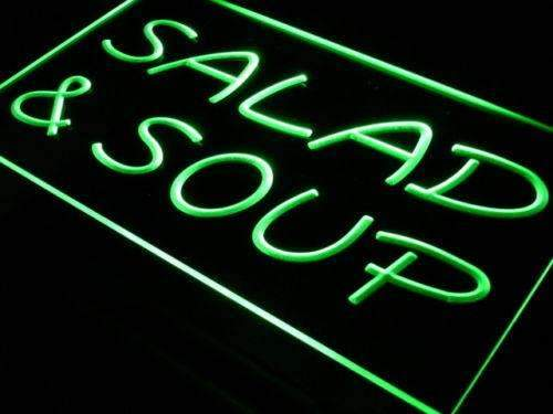 Salad Soup LED Neon Light Sign - Way Up Gifts