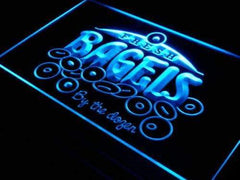 Fresh Bagels LED Neon Light Sign