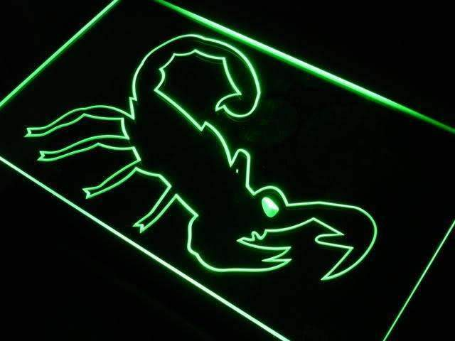 Scorpion LED Neon Light Sign - Way Up Gifts