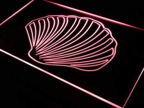 Sea Shell Beach Decor LED Neon Light Sign - Way Up Gifts