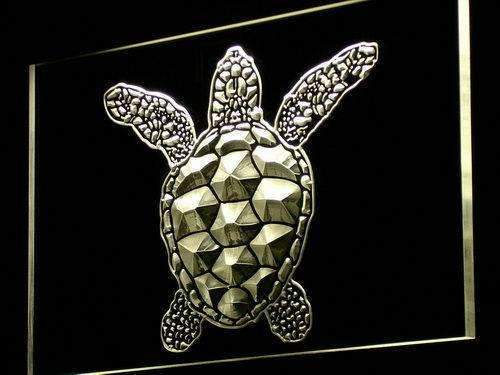Sea Turtle LED Neon Light Sign - Way Up Gifts