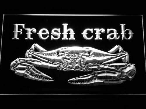 Seafood Fresh Crab LED Neon Light Sign - Way Up Gifts