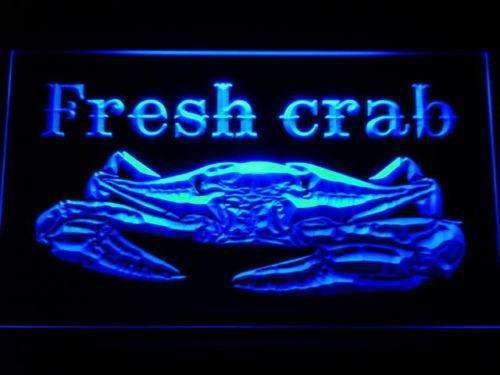 Seafood Crab Open LED Neon Light Sign