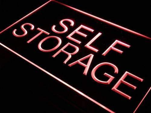 Self Storage LED Neon Light Sign - Way Up Gifts