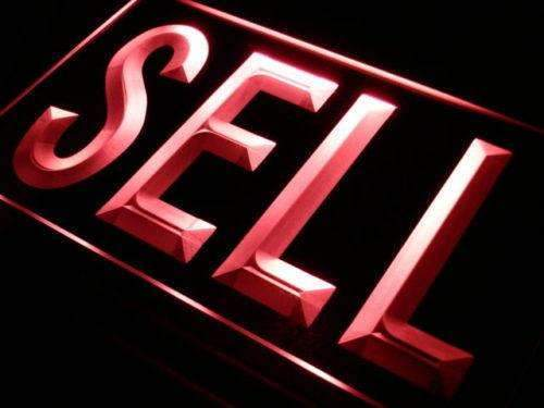 Sell We Buy LED Neon Light Sign - Way Up Gifts