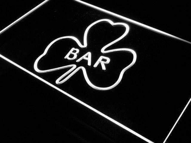 Shamrock Irish Bar LED Neon Light Sign - Way Up Gifts