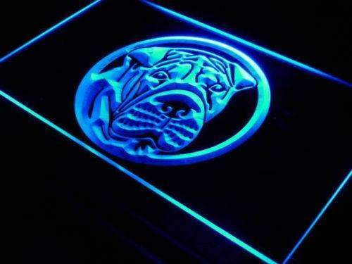 Shar Pei LED Neon Light Sign - Way Up Gifts