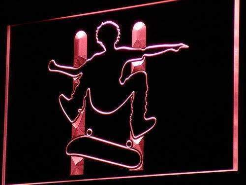 Skateboard Jump LED Neon Light Sign  Business > LED Signs > Uncategorized Neon Signs - Way Up Gifts