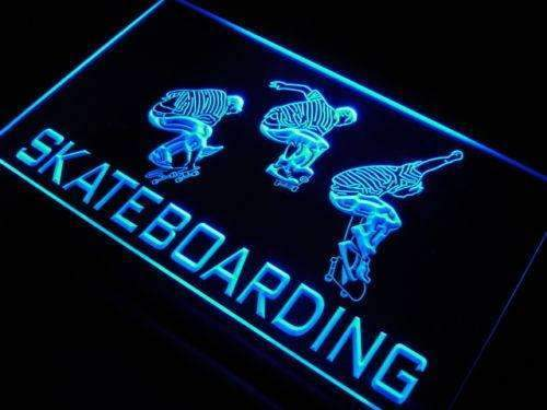 Skateboarding LED Neon Light Sign - Way Up Gifts