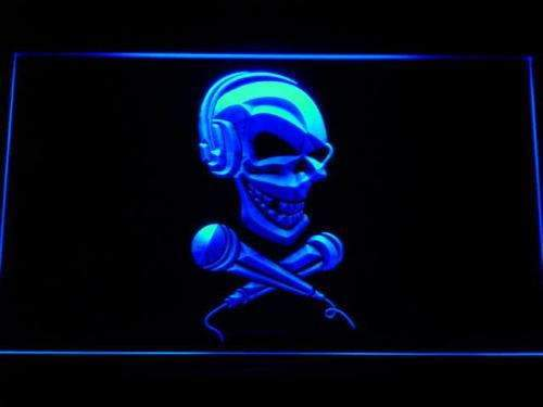 Skull Headphones LED Neon Light Sign - Way Up Gifts