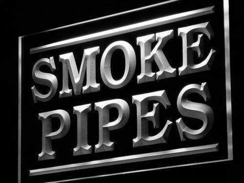 Smoke Pipes LED Neon Light Sign - Way Up Gifts