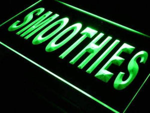 Smoothies Neon Sign (LED)-Way Up Gifts