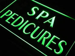 Spa Pedicures LED Neon Light Sign