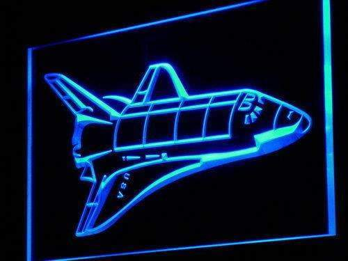 Space Shuttle LED Neon Light Sign - Way Up Gifts