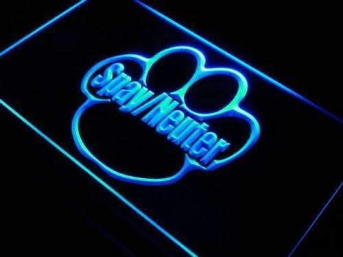Spay Neuter LED Neon Light Sign - Way Up Gifts