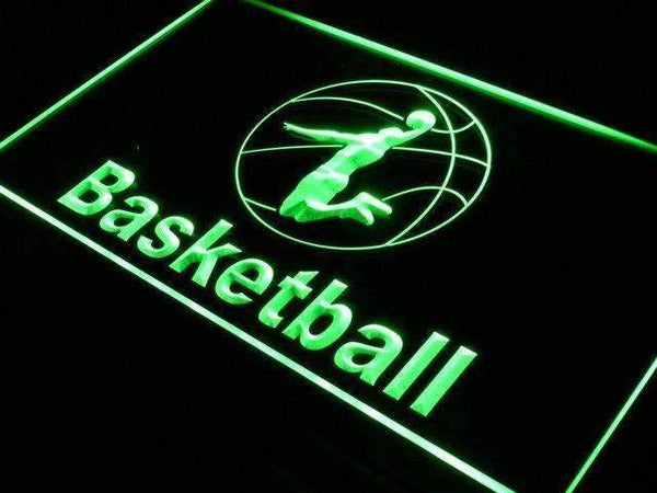 Sports Basketball Neon Sign (LED)-Way Up Gifts