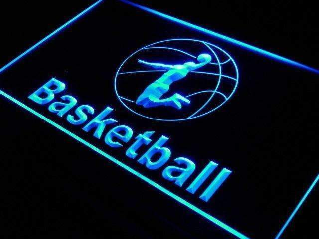Sports Basketball LED Neon Light Sign - Way Up Gifts