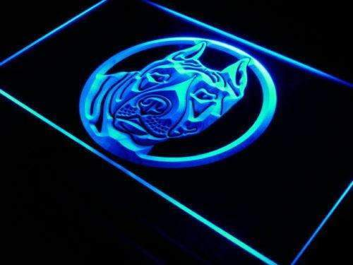 Staffordshire Bull Terrier Staffie LED Neon Light Sign - Way Up Gifts