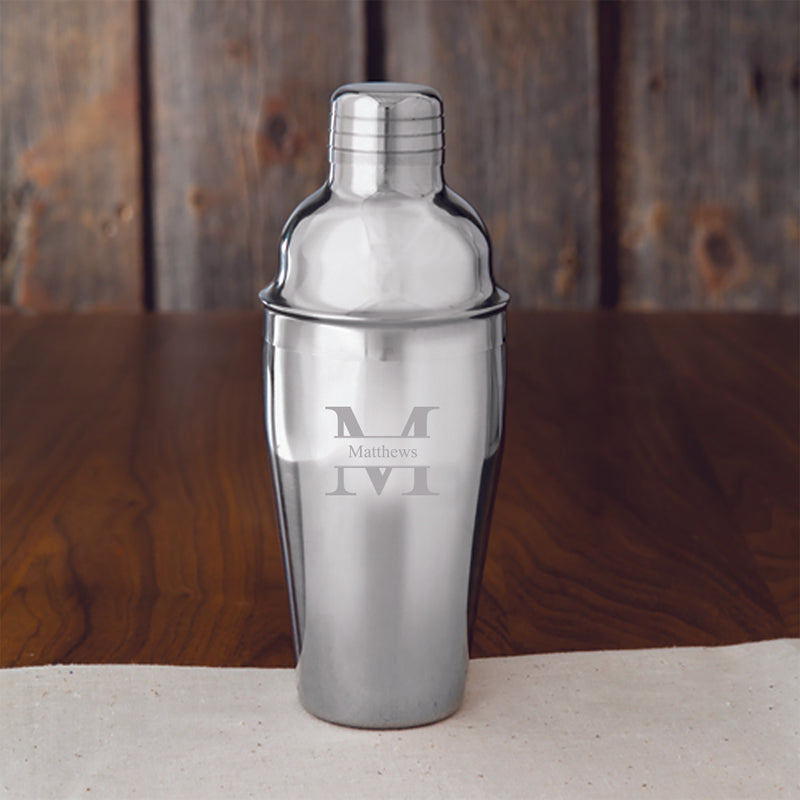 Personalized Cocktail Shaker - Way Up Gifts