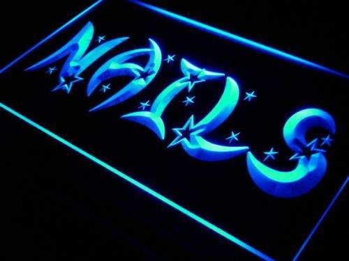 Stars Nail Salon LED Neon Light Sign  Business > LED Signs > Barber & Salon Neon Signs - Way Up Gifts