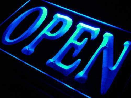 Store Open LED Neon Light Sign - Way Up Gifts