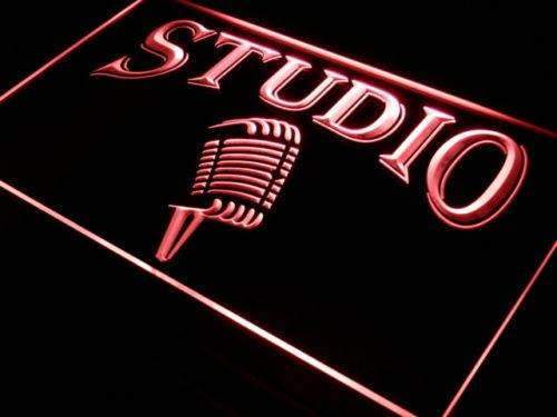 Studio Microphone On Air LED Neon Light Sign - Way Up Gifts