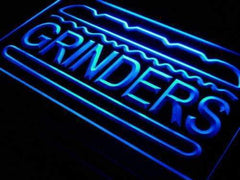 Subs Hoagies Grinders LED Neon Light Sign
