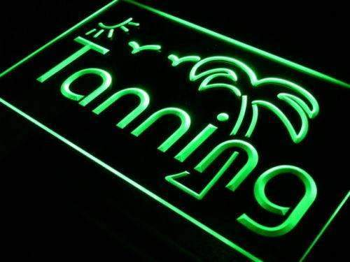 Sun Palm Tree Tanning LED Neon Light Sign - Way Up Gifts