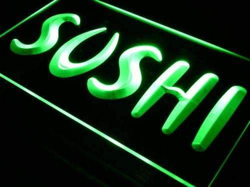 Sushi LED Neon Light Sign - Way Up Gifts